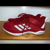 Adidas Shoes   Ln Red Adidas Cross Trainer Turf Mens 10m (9.5m)   Color: Red   Size: 9.5