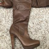 Jessica Simpson Shoes | Jessica Simpson Knee High Brown Boots Size 7 | Color: Brown | Size: 7