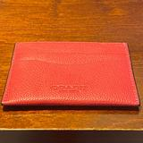 Coach Bags | Coach Slim Card Case Wallet | Color: Red | Size: Os