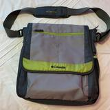 Columbia Bags | Diaper Bag Columbia With Insert, Adjustable Strap | Color: Gray/Green | Size: Os