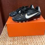 Nike Shoes | Nike Kids Soccer Cleats. | Color: Black | Size: 10c