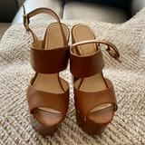 Jessica Simpson Shoes   Jessica Simpson High Heels   Color: Brown/Tan   Size: 7