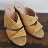 Madewell Shoes   Madewell Alexandria Mule In Suede L0836   Color: Yellow   Size: Various