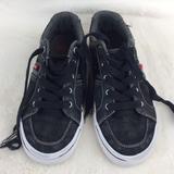 Levi's Shoes   Levi'S Black Canvas Sneaker Little Kid Size 2   Color: Black/White   Size: 2b