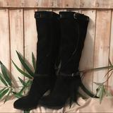 Nine West Shoes | Nine West Relianto Black Knee Boots | Color: Black | Size: 9.5