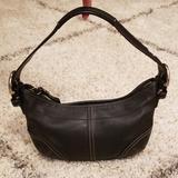 Coach Bags   Coach Black Leather Handbag Purse   Color: Black   Size: Os