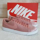 Nike Shoes   New Nike Blazer Low Top Se Sneakers   Color: Pink/White   Size: 7.5