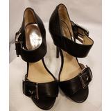 Michael Kors Shoes | Michael Kors Sexy Heels! Platform & Pencil Heel | Color: Black/Silver | Size: 6