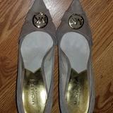 Michael Kors Shoes | Ladies Size 7 Tan Suede Michael Kors Pump | Color: Tan | Size: 7