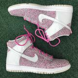 Nike Shoes   New Nike Dunk Hi Skinny Print Sneaker Pink 8.5   Color: Gray/Pink   Size: 8.5