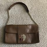 Kate Spade Bags | Kate Spade Brown Leather Purse Wgold Chain Strap | Color: Brown | Size: Os
