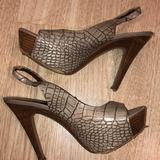Jessica Simpson Shoes   Jessica Simpson High Heels Peep Toe   Color: Brown/Tan   Size: 8