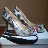 Nine West Shoes   Nine West Embelished Pumps, Unworn   Color: Red/Silver   Size: 7.5