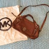Michael Kors Bags | Michael Kors Soft Leather Bag With Gold Hardware | Color: Gold/Tan | Size: Os