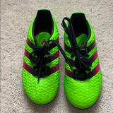 Adidas Shoes | Kids Adidas 16.3 Soccer Cleats | Color: Black/Green | Size: 12b