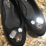 Kate Spade Shoes   Kate Spade Croc Print Ballet Flats   Color: Black   Size: 7