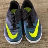 Nike Shoes   Kids Nike Soccer Turf Shoe   Color: Black/Green   Size: 4.5b