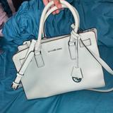 Michael Kors Bags | Michael Kors Bag East West Dillon Leather Satchel | Color: Silver | Size: Os