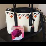 Kate Spade Bags | Kate Spade Nwt Jeweled Bag With Free Fragrance Pop | Color: Gold/White | Size: 11x5x9