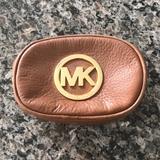 Michael Kors Bags | Michael Kors Cosmetic Bag | Color: Brown/Gold | Size: 6x4