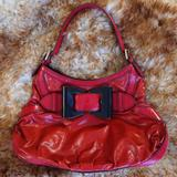 Gucci Bags | Limited Edition Gucci: Red Leather Wblack Buckle | Color: Black/Red | Size: Os