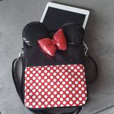 Disney Bags | Minnie Mouse Ipadtablet Purse | Color: Black/Red | Size: 11' H X 8.5' L X 2' W