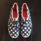 Kate Spade Shoes | Kate Spade Keds Shoes | Color: Blue/White | Size: 5.5