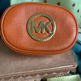 Michael Kors Bags | Micheal Kors Makeup Pouch | Color: Orange | Size: Os