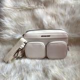 Michael Kors Bags | Michael Kors Hanover Crossbody!! | Color: White | Size: Lg
