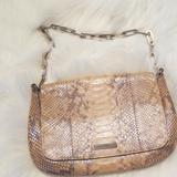 Gucci Bags | Gucci Python Shoulderbag | Color: Tan | Size: Os