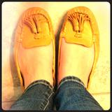 Nine West Shoes   Nine West Mustard Moccasins   Color: Yellow   Size: 9.5