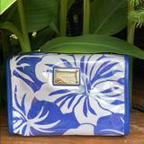 Michael Kors Bags | Michael Kors Cosmetic Bag | Color: Blue/White | Size: Os