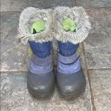 The North Face Shoes   Little Girl Cold Weather Boots   Color: Blue/Gray   Size: 12g