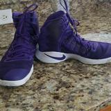 Nike Shoes | Ladies Nike Hyperdunk Basketball Shoes | Color: Purple/White | Size: 9.5