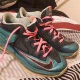 Nike Shoes   Lebron Turbo Shoes   Color: Green/Pink   Size: 6