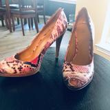 Nine West Shoes   Euc Alligator Heels!   Color: Pink   Size: 7.5