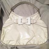 Gucci Bags   Gucci White Leather Shoulder Bag   Color: Black/White   Size: Os