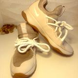 Nike Shoes | Nike Chunky Lace Tennis Shoes | Color: Cream | Size: 9.5
