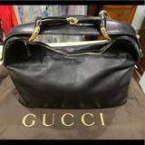 Gucci Bags | Gucci Black Leather Horsebit Hobo Bag Authentic | Color: Black | Size: Os