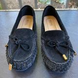 Michael Kors Shoes   Michael Kors - Suede Loafer   Color: Black   Size: 5