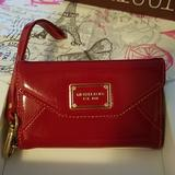Michael Kors Bags | Michael Kors Iphone Wallet Clutch | Color: Red | Size: Os