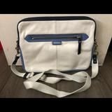 Coach Bags | Laptop Bag | Color: White | Size: For Small Laptop Only