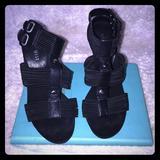 Nine West Shoes | Nine West Black Sexy Heels Sz 6.5 | Color: Black | Size: 6.5
