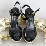 Jessica Simpson Shoes   New!! Jessica Simpson Platform Sandals   Color: Black   Size: 8