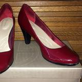 Giani Bernini Shoes | Giani Bernini Dark Blood Red Patent Pumps Heels | Color: Red | Size: 8.5
