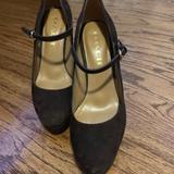 Coach Shoes | Coach Mary Jane Suede Plataforms | Color: Brown | Size: 5.5