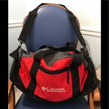 Columbia Bags | Hpcolumbiasportswearcompany 24in Gear Bag | Color: Gray/Red | Size: 24 Inches (W) X 15 Inches (H) X 11 Inches (D)
