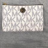 Michael Kors Bags | Micheal Kors Makeup Bag | Color: Black/White | Size: Os
