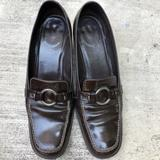 Coach Shoes | Coach Brown Leather Loafers Preppy Italy Shoes S8b | Color: Brown | Size: 8b