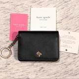Kate Spade Bags   Kate Spade Nadine Slim Bifold Card Holder Wallet   Color: Black/Gold   Size: Os